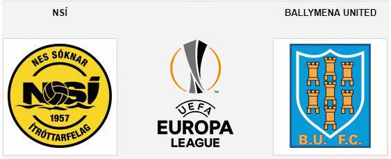 Tip bóng đá trận NSÍ Runavík vs Ballymena United – 01h00 - 05/07/2019 – Vòng sơ loại Europa League