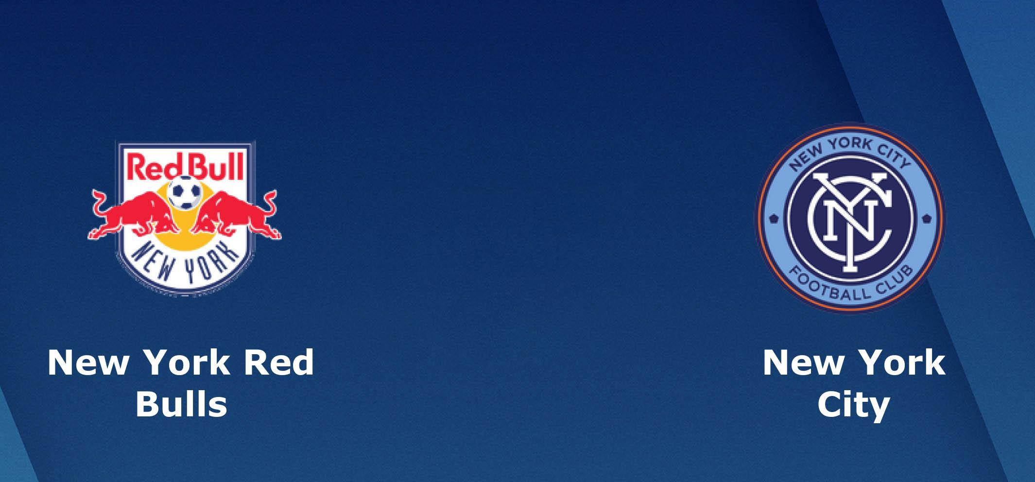 Tip bóng đá trận New York Red Bulls vs New York City - 05h30 – ngày 15/07/2019 – Giải nhà nghề Mỹ